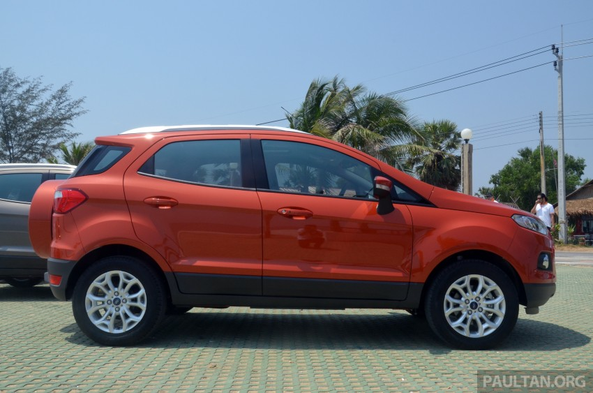 DRIVEN: Ford EcoSport 1.5 in Hua Hin, Thailand Image #245686