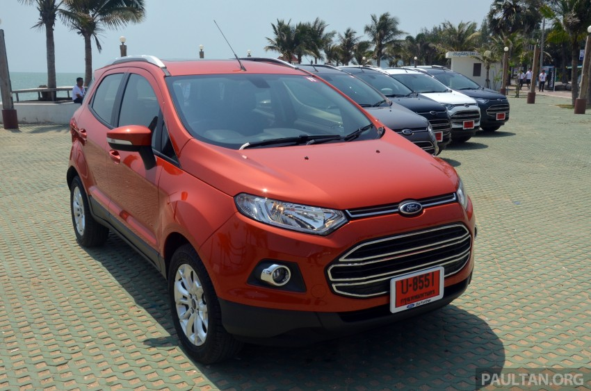 DRIVEN: Ford EcoSport 1.5 in Hua Hin, Thailand Image #245687