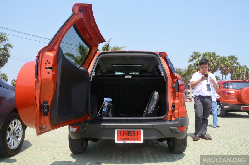 DRIVEN: Ford EcoSport 1.5 in Hua Hin, Thailand Image #245693