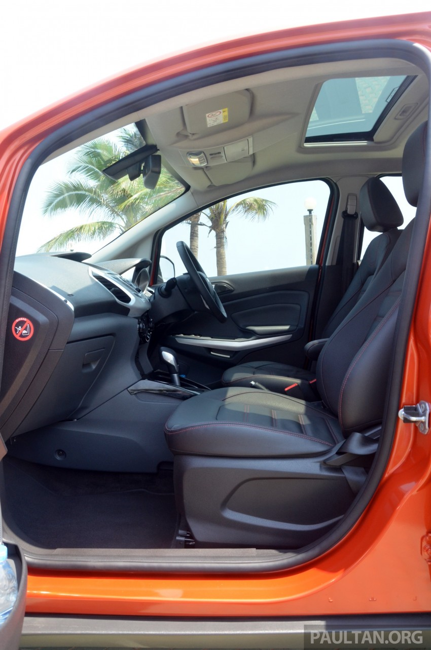 DRIVEN: Ford EcoSport 1.5 in Hua Hin, Thailand Image #245697
