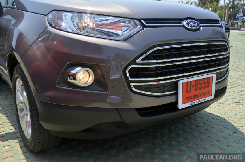DRIVEN: Ford EcoSport 1.5 in Hua Hin, Thailand Image #245704