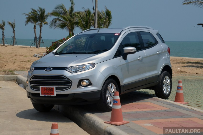 DRIVEN: Ford EcoSport 1.5 in Hua Hin, Thailand Image #245705