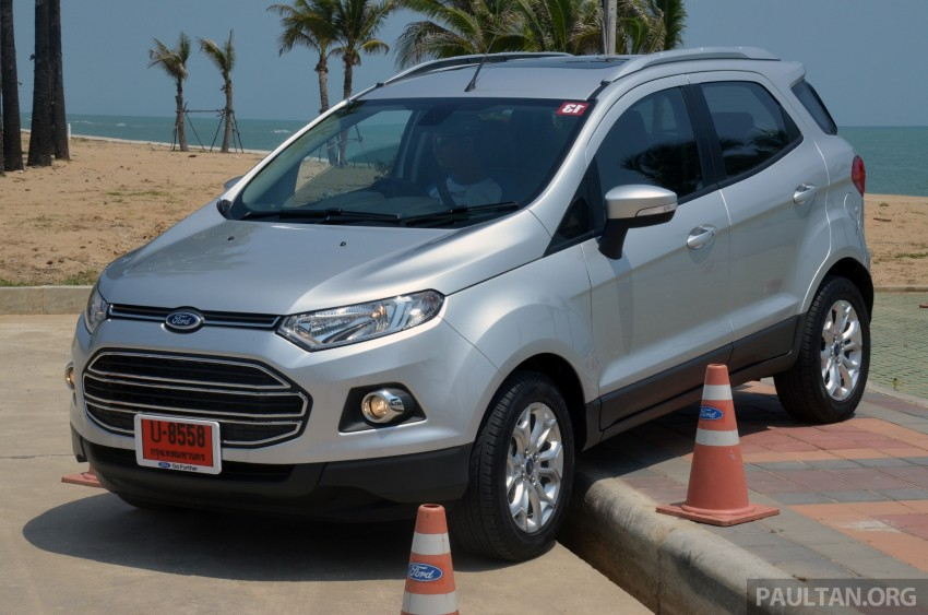 DRIVEN: Ford EcoSport 1.5 in Hua Hin, Thailand Image #245706