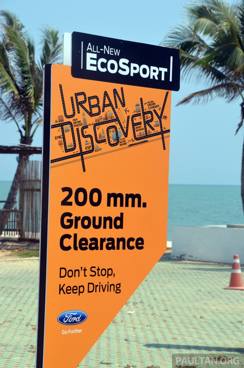 DRIVEN: Ford EcoSport 1.5 in Hua Hin, Thailand Image #245707