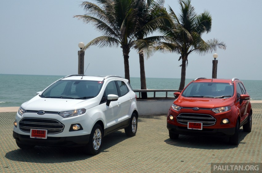 DRIVEN: Ford EcoSport 1.5 in Hua Hin, Thailand Image #245708