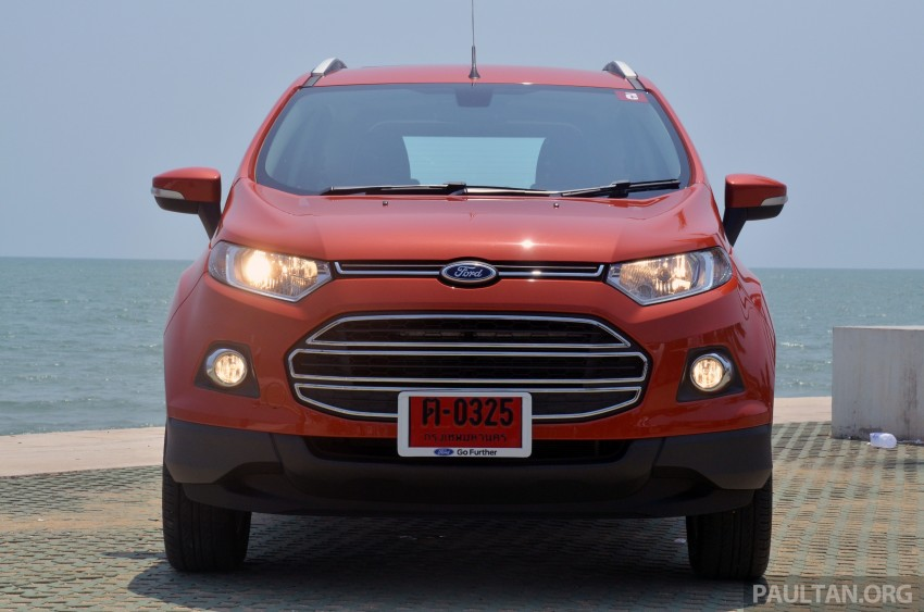 DRIVEN: Ford EcoSport 1.5 in Hua Hin, Thailand Image #245711