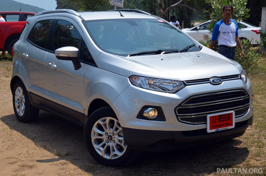 DRIVEN: Ford EcoSport 1.5 in Hua Hin, Thailand Image #245714