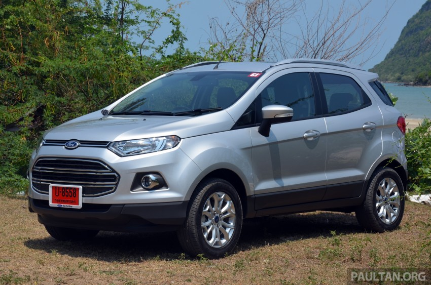 DRIVEN: Ford EcoSport 1.5 in Hua Hin, Thailand Image #245715