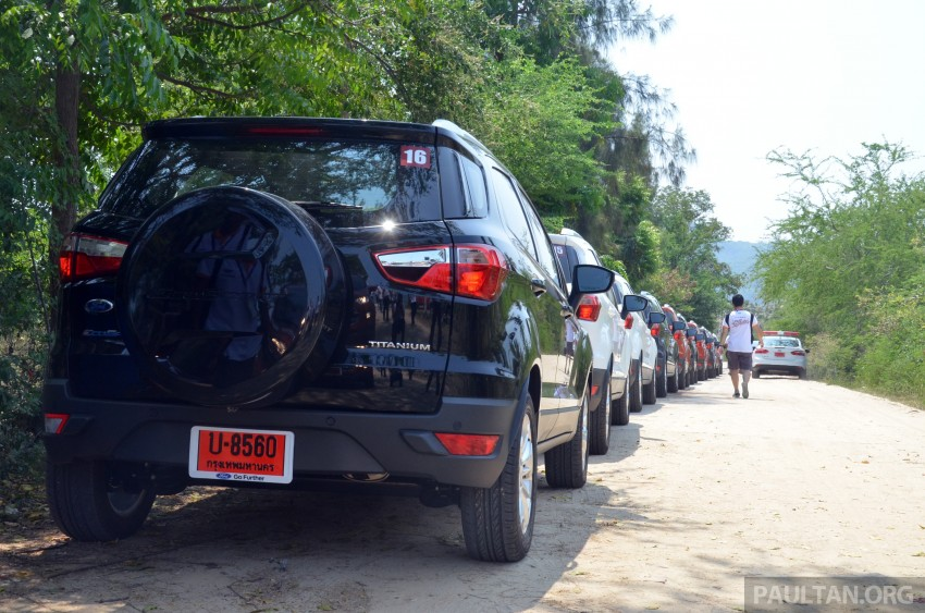 DRIVEN: Ford EcoSport 1.5 in Hua Hin, Thailand Image #245716