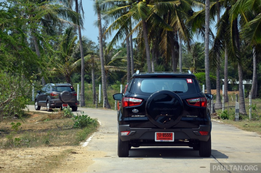 DRIVEN: Ford EcoSport 1.5 in Hua Hin, Thailand Image #245724