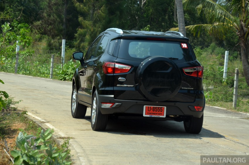 DRIVEN: Ford EcoSport 1.5 in Hua Hin, Thailand Image #245725
