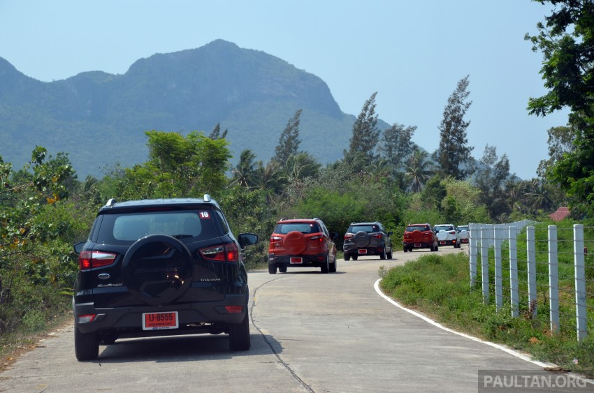 DRIVEN: Ford EcoSport 1.5 in Hua Hin, Thailand Image #245726