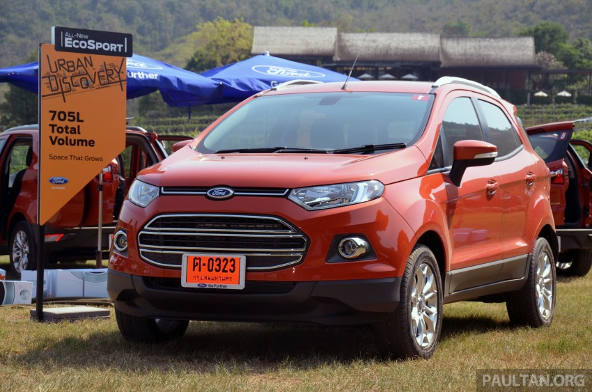DRIVEN: Ford EcoSport 1.5 in Hua Hin, Thailand Image #245743