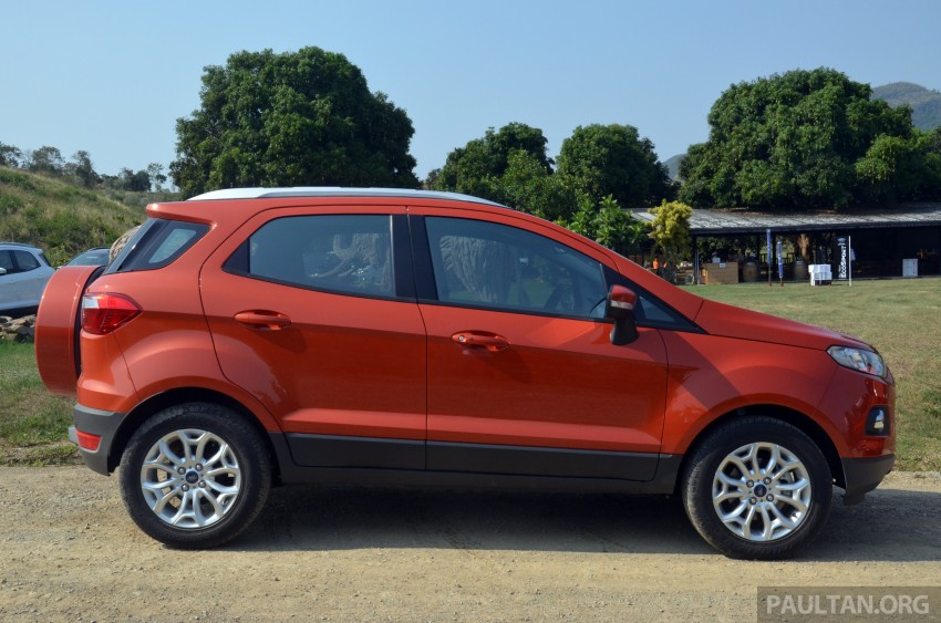 DRIVEN: Ford EcoSport 1.5 in Hua Hin, Thailand Image #245747