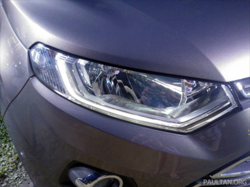 DRIVEN: Ford EcoSport 1.5 in Hua Hin, Thailand Image #245755