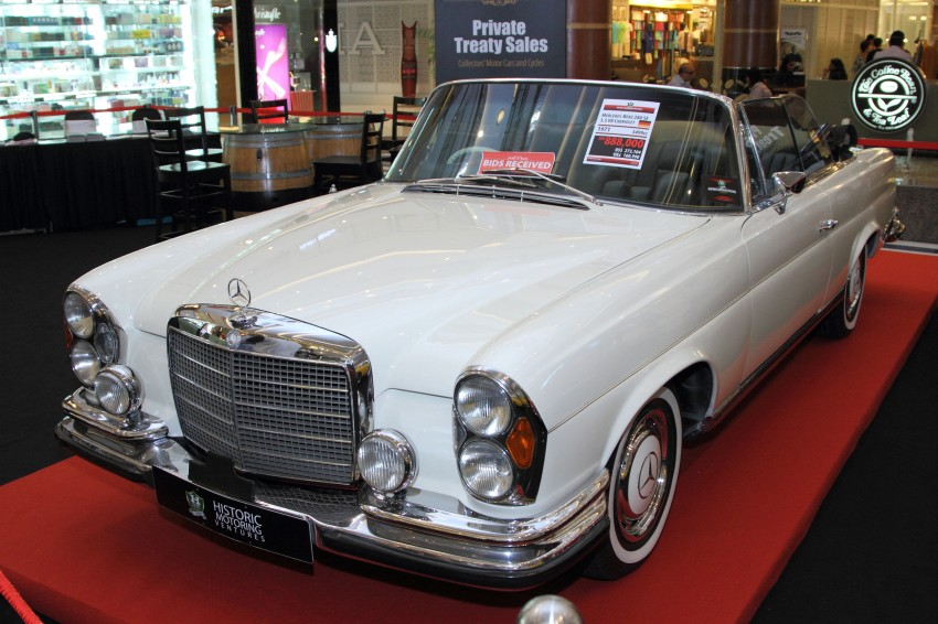 AD: Historic Motoring Ventures' Private Treaty Sales at BSC Bangsar is now back till the weekend! Image #248090