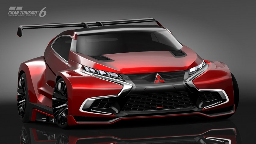 Mitsubishi Concept XR-PHEV Evolution now in GT6 Image #250909