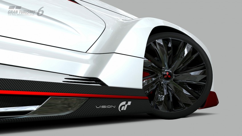 Mitsubishi Concept XR-PHEV Evolution now in GT6 Image #250901