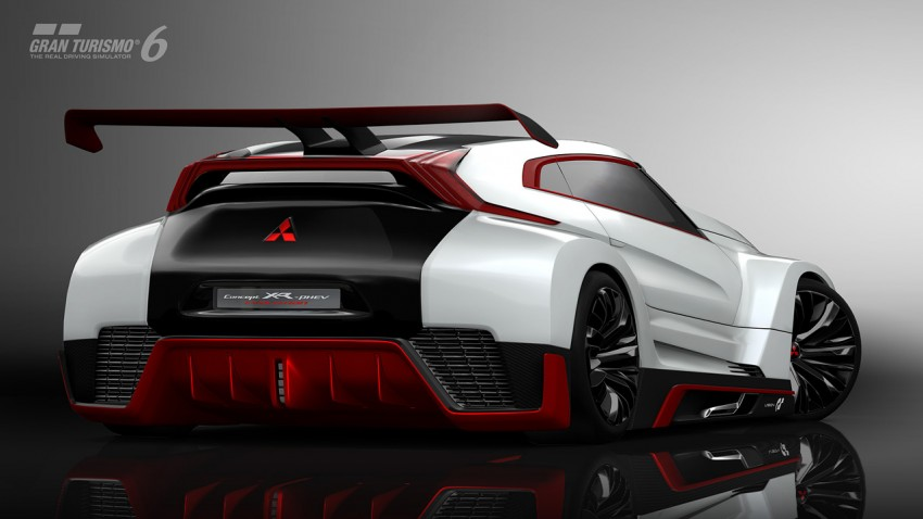 Mitsubishi Concept XR-PHEV Evolution now in GT6 Image #250904