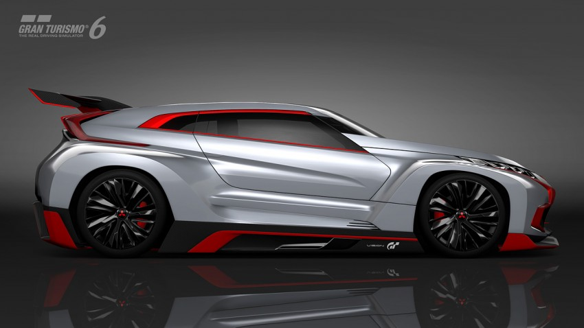 Mitsubishi Concept XR-PHEV Evolution now in GT6 Image #250906