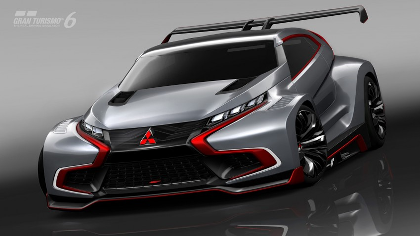 Mitsubishi Concept XR-PHEV Evolution now in GT6 Image #250907