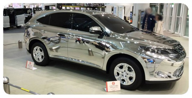 Toyota Mirror Harrier Xu60 With Reflection Mapping