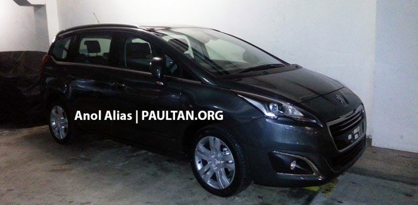 Peugeot 5008 facelift seen at JPJ – will it be CKD? Image #247074