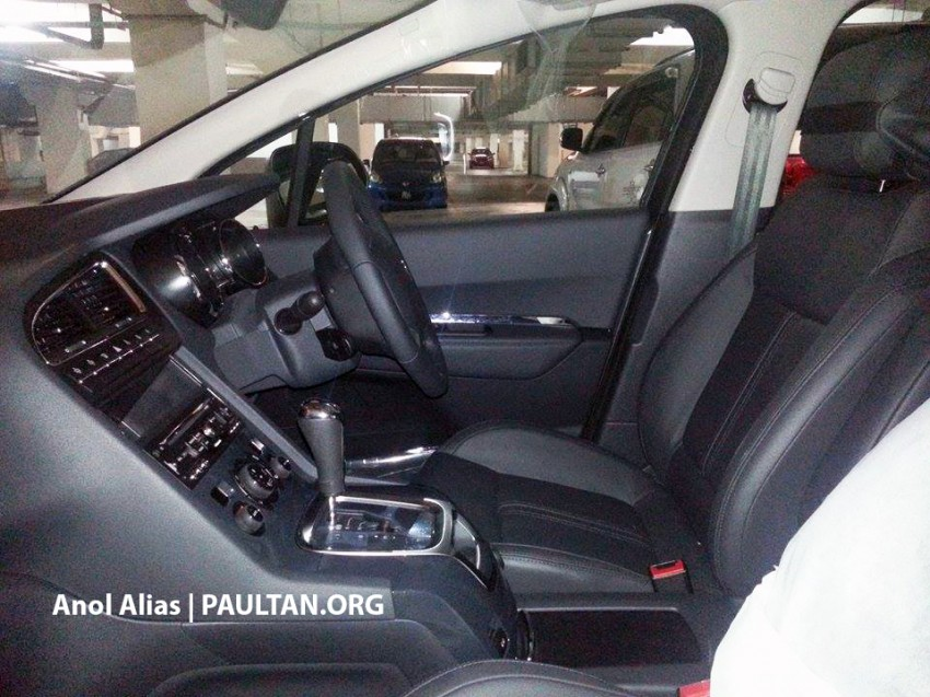 Peugeot 5008 facelift seen at JPJ – will it be CKD? Image #247084