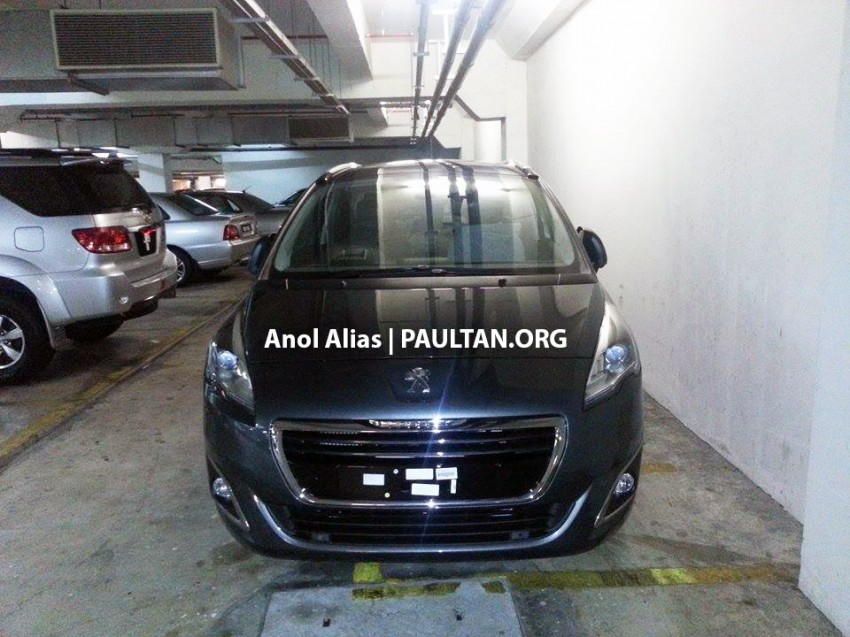 Peugeot 5008 facelift seen at JPJ – will it be CKD? Image #247075