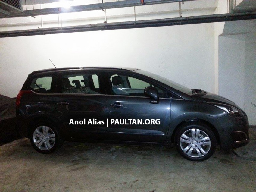 Peugeot 5008 facelift seen at JPJ – will it be CKD? Image #247080