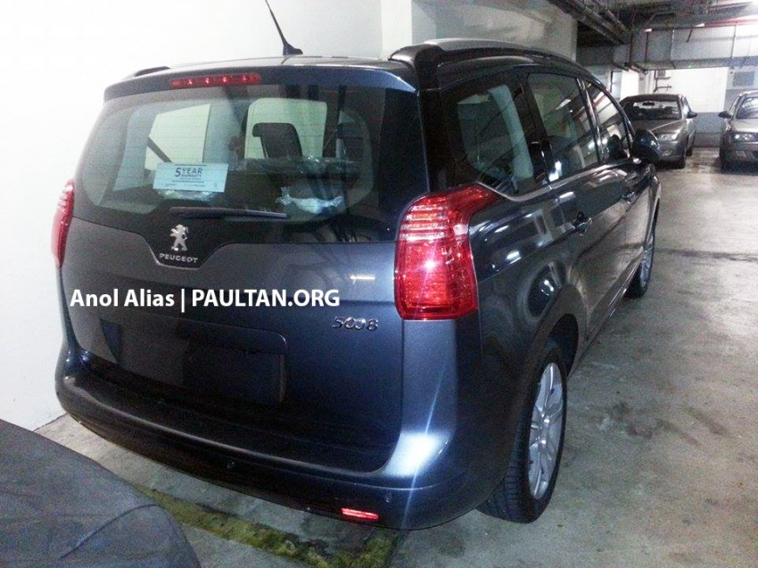 Peugeot 5008 facelift seen at JPJ – will it be CKD? Image #247082