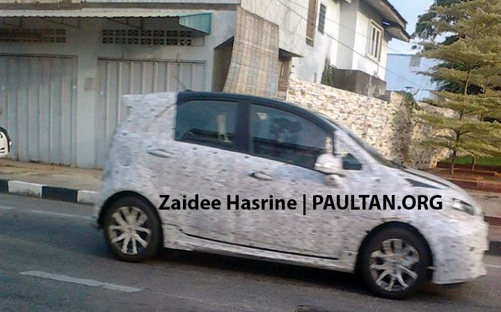 Proton Global Small Car (P2-30A) spotted in Kota Bharu, together with Polo, Myvi, Brio and Fiesta! Image #249236
