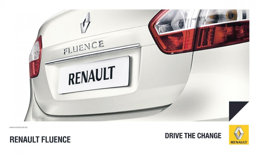 Renault Fluence teased on Renault Malaysia's FB page Image #246900