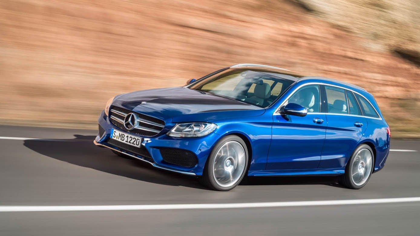 W205 Mercedes Benz C Class Estate Makes Its Debut Paul Tan