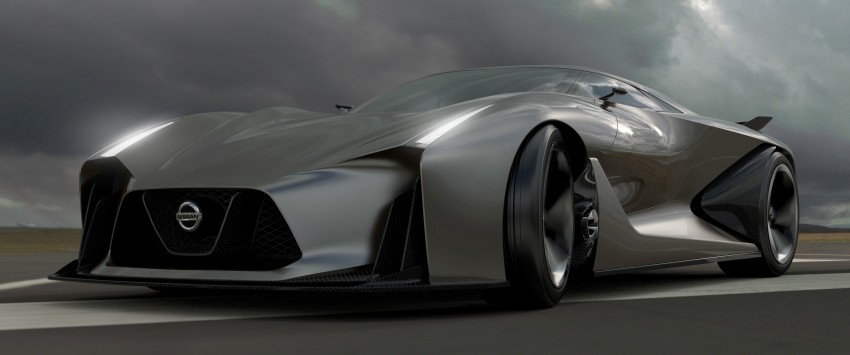 Nissan Concept 2020 Vision Gran Turismo coming to GT6 in July – a look into the future of the GT-R? Image #254281