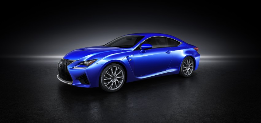 Lexus RC F to strut its stuff at Goodwood 2014 Image #255629