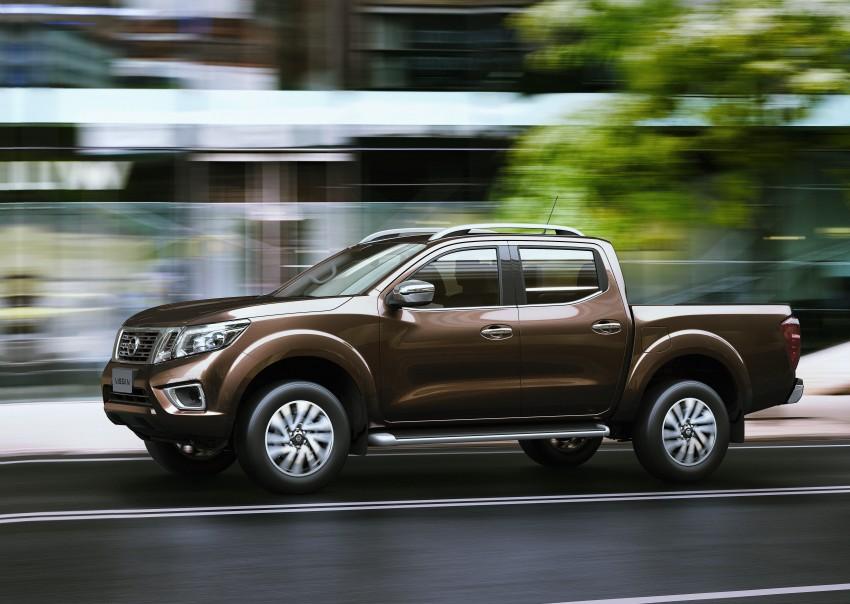 Nissan NP300 Navara unveiled in Thailand: 7spd auto! Image #253195