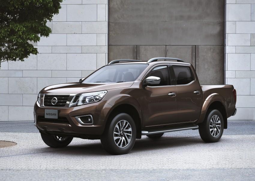 Nissan NP300 Navara unveiled in Thailand: 7spd auto! Image #253192
