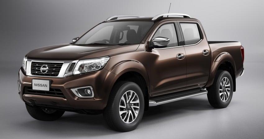Nissan NP300 Navara unveiled in Thailand: 7spd auto! Image #253190