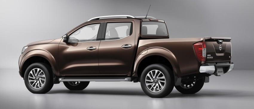 Nissan NP300 Navara unveiled in Thailand: 7spd auto! Image #253188