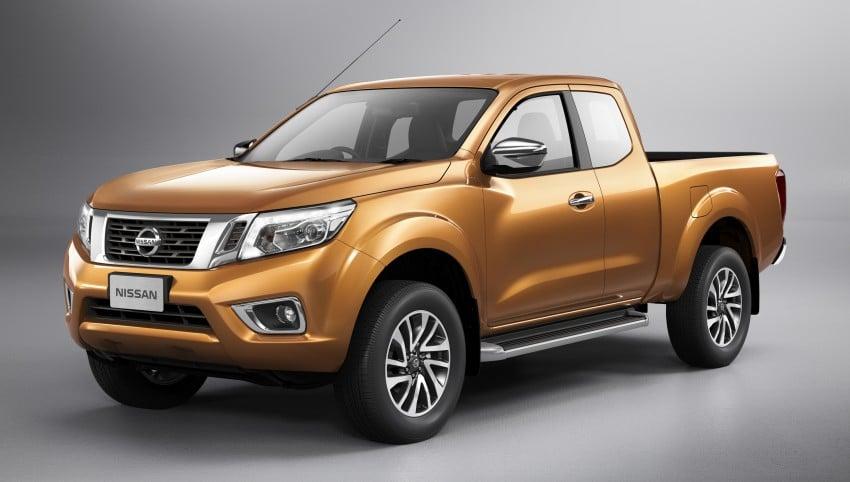 Nissan NP300 Navara unveiled in Thailand: 7spd auto! Image #253178