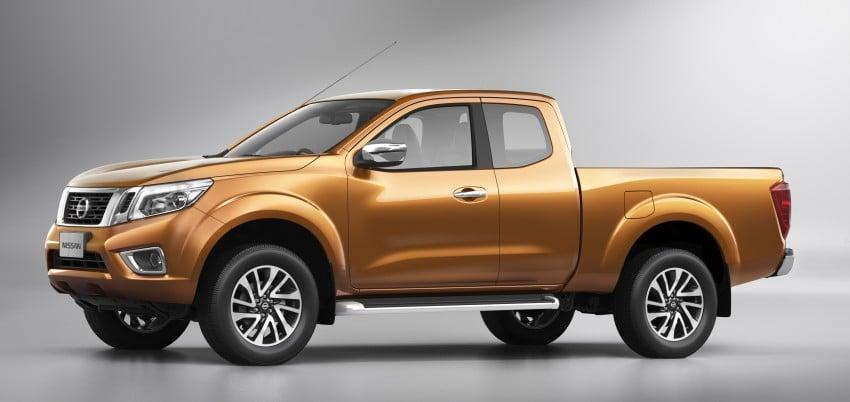 Nissan NP300 Navara unveiled in Thailand: 7spd auto! Image #253177