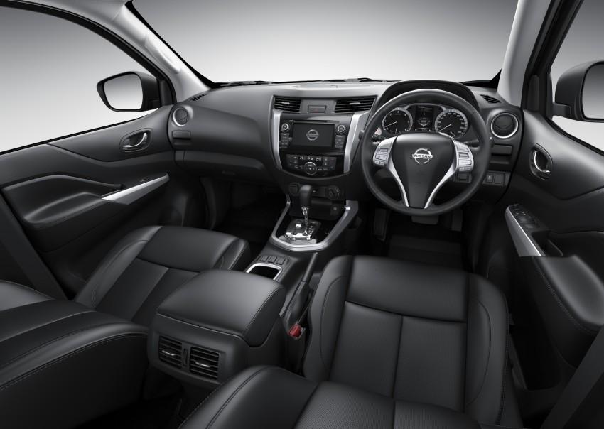 Nissan NP300 Navara unveiled in Thailand: 7spd auto! Image #253172