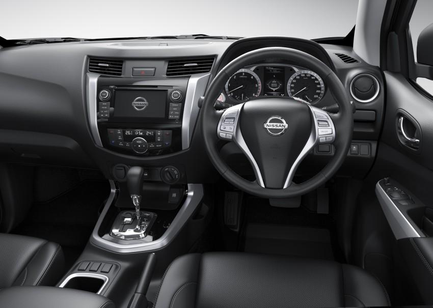Nissan NP300 Navara unveiled in Thailand: 7spd auto! Image #253169