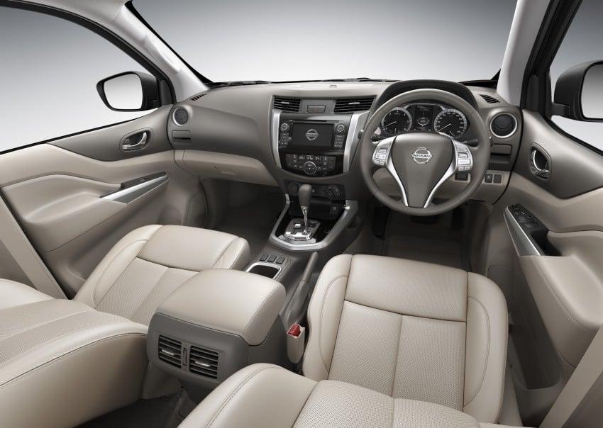 Nissan NP300 Navara unveiled in Thailand: 7spd auto! Image #253167