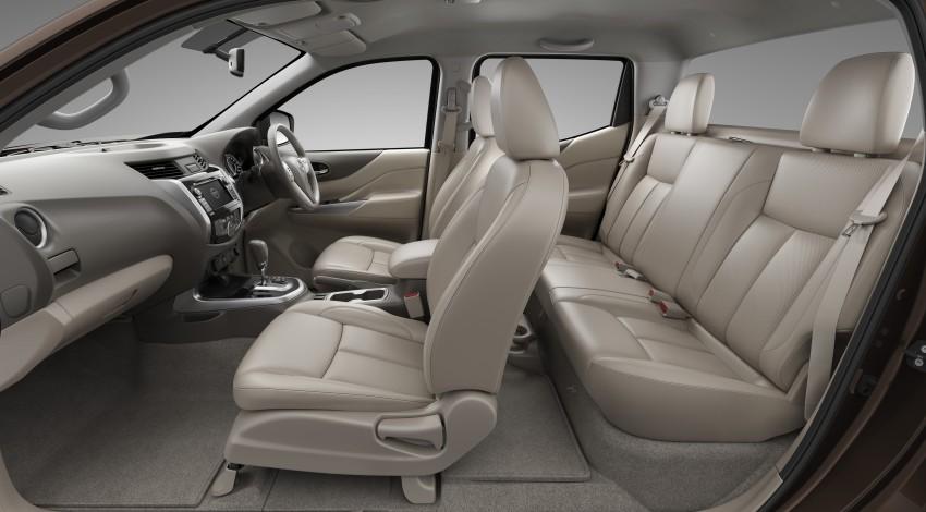 Nissan NP300 Navara unveiled in Thailand: 7spd auto! Image #253166