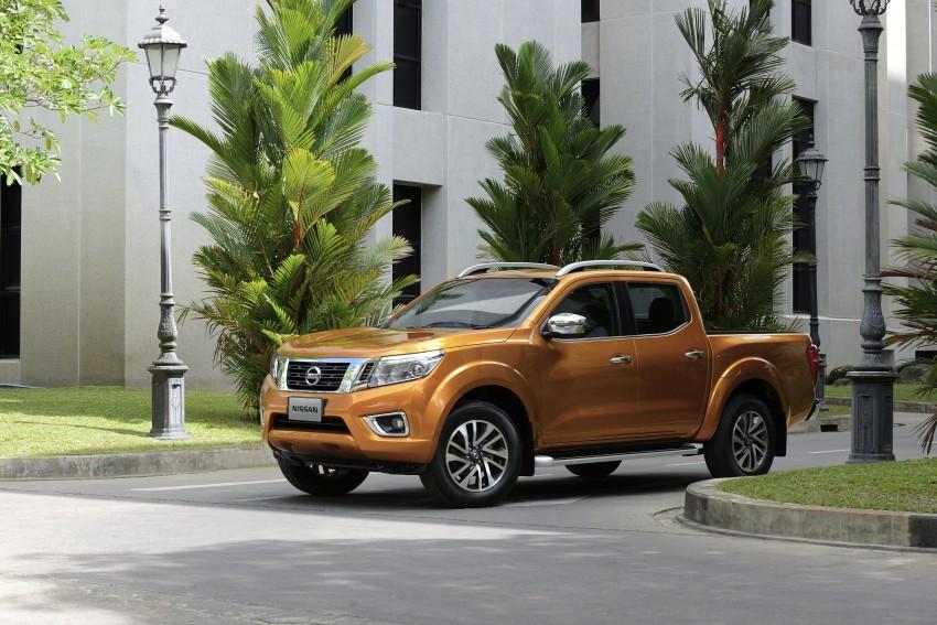 Nissan NP300 Navara unveiled in Thailand: 7spd auto! Image #253153