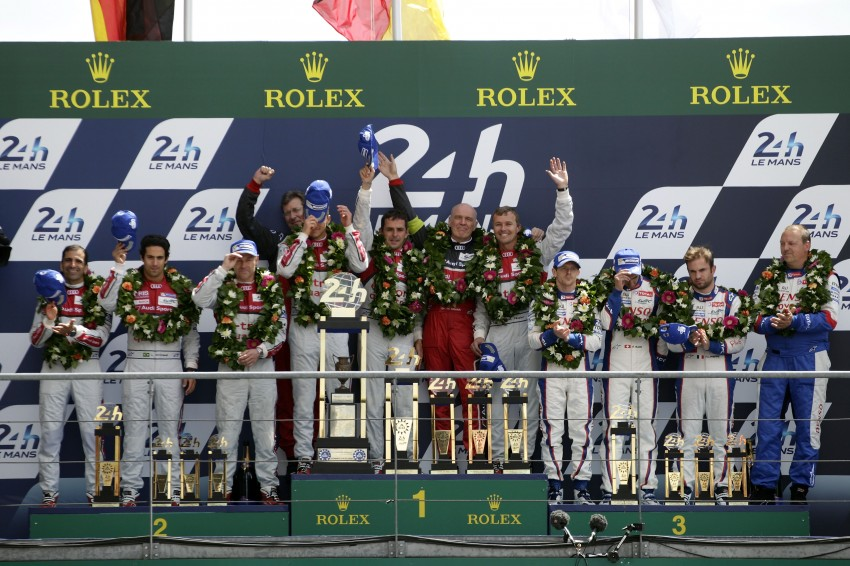 Le Mans 2014 – Audi 1-2 marks 13th win for Ingolstadt Image #254036