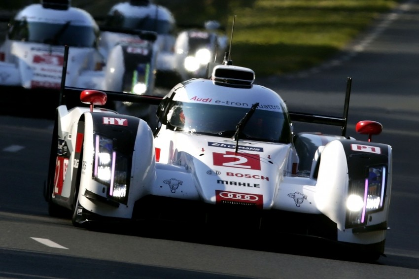 Le Mans 2014 – Audi 1-2 marks 13th win for Ingolstadt Image #254035