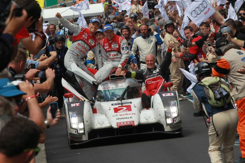Le Mans 2014 – Audi 1-2 marks 13th win for Ingolstadt Image #254034